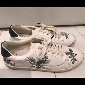 Zara embroidered sneaker